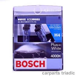 白さ、明るさを高次元でバランス化 4000K【BOSCH】プラス(+)ホワイト