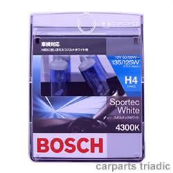 HID に近い冴えたコバルトホワイト光 4300K【BOSCH】スポルテックホワイト