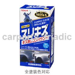 ひっかきキズ、スリキズをより確実に、安全に消したい方におすすめします。粗目、極細の2液タイプ。【リンレイ】Pro MiraX (プロミラックス) スリキズ